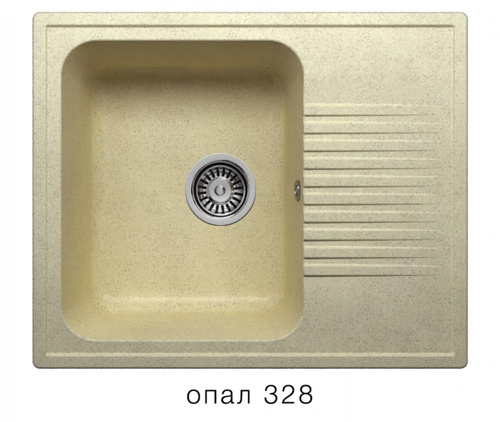 Мойка Polygran-F-07-328, цвет - Опал