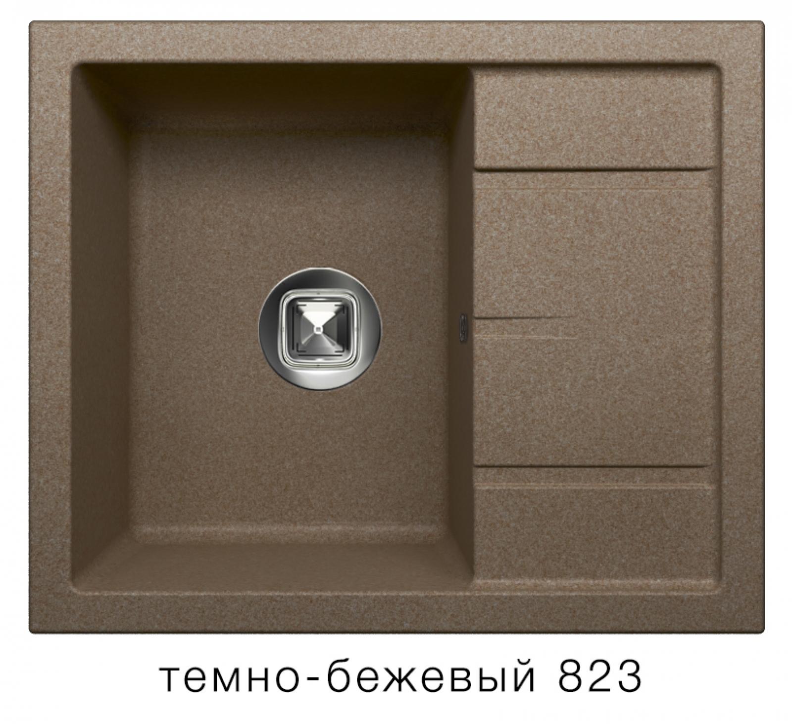 Мойка Tolero-R-107-823, цвет - Темно-бежевый