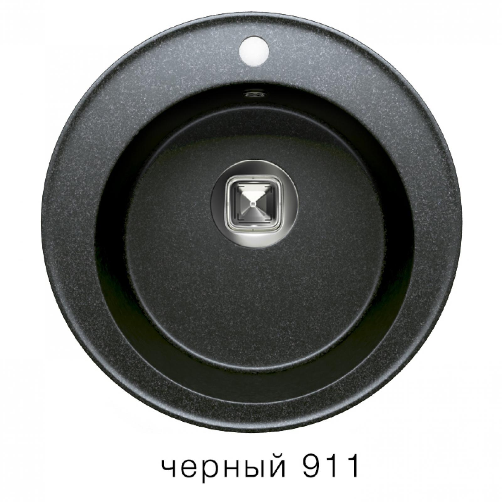 Мойка Tolero-R-108-911, цвет - Черный