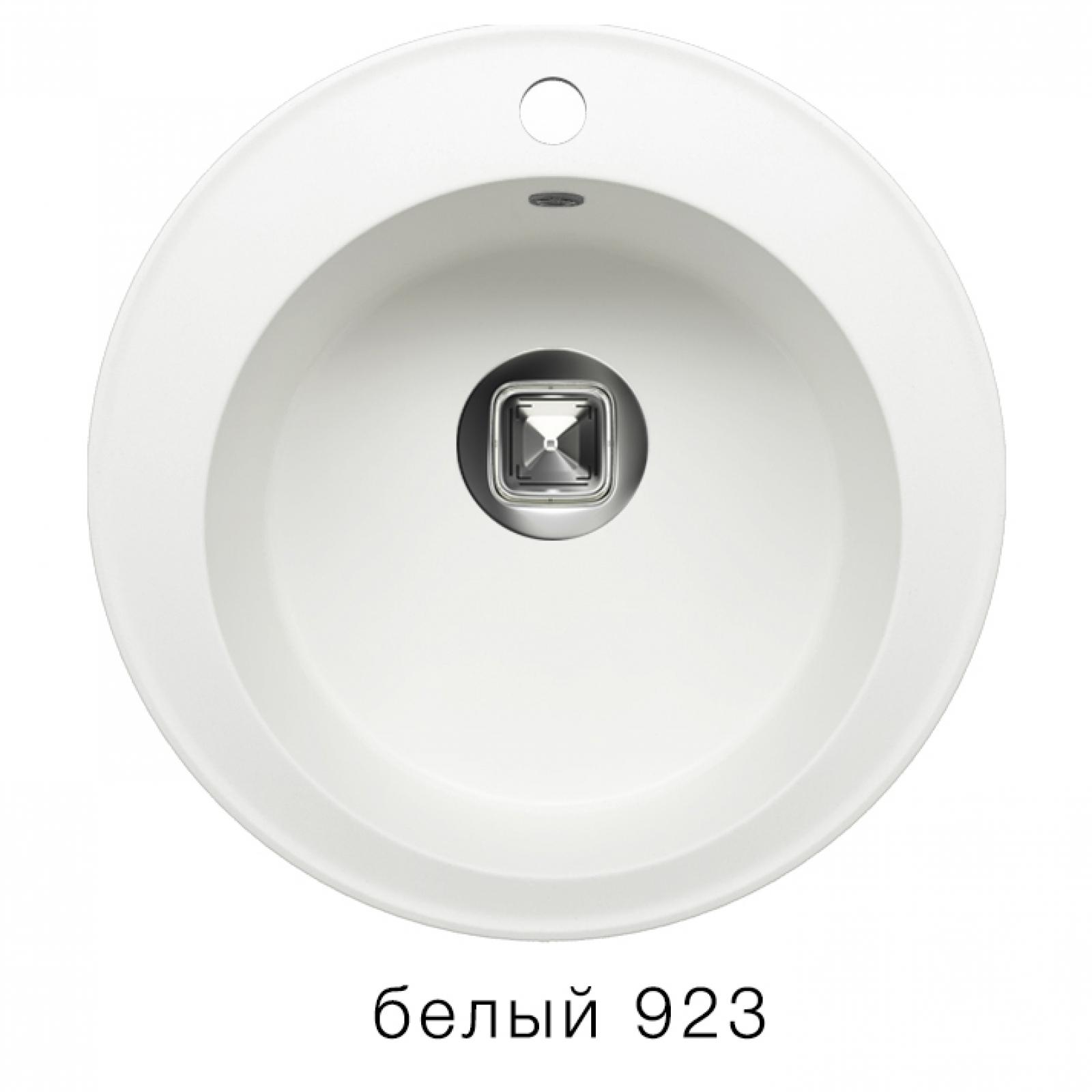 Мойка Tolero-R-108-923, цвет - Белый