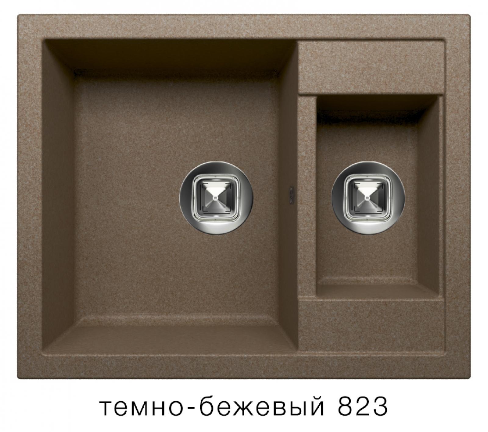 Мойка Tolero-R-109-823, цвет - Темно-бежевый