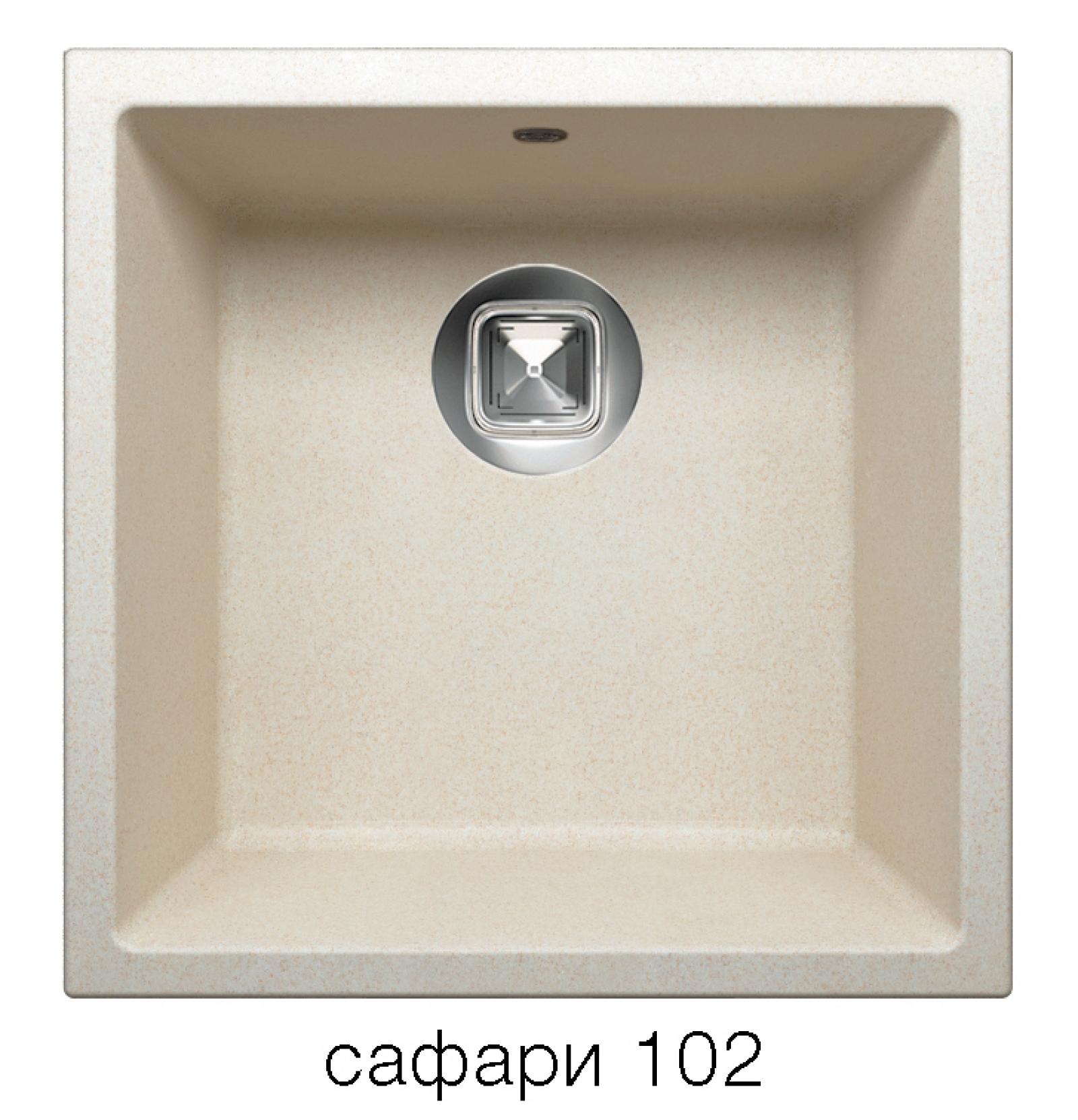 Мойка Tolero-R-128-102, цвет – сафари