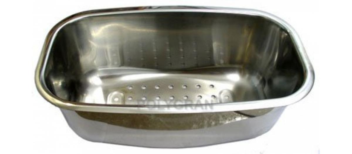Коландер к кухонным мойкам Polygran-F-09, F-18, металлический
