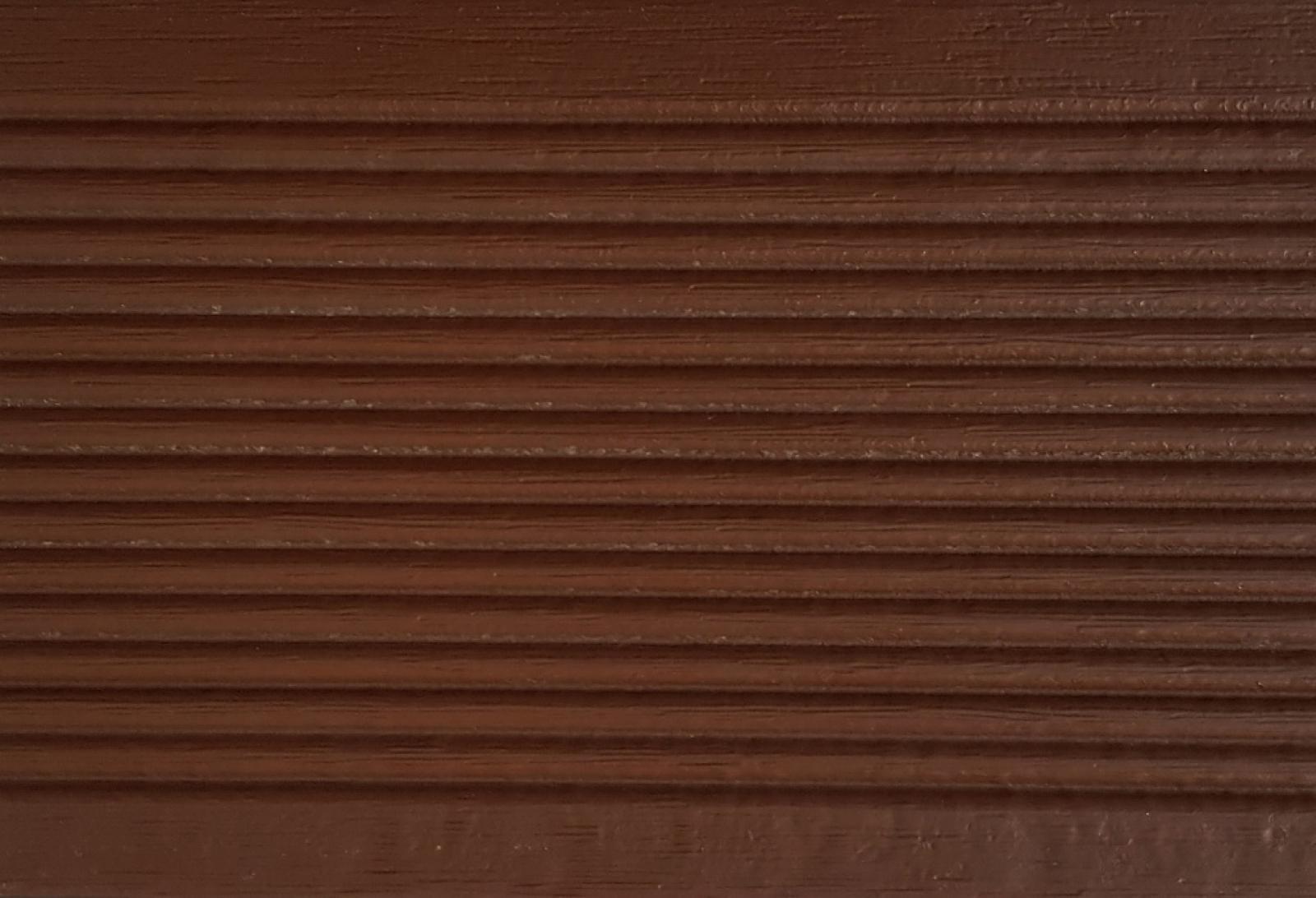 Террасная доска Практик Моноколор Светло-коричневая Яшма