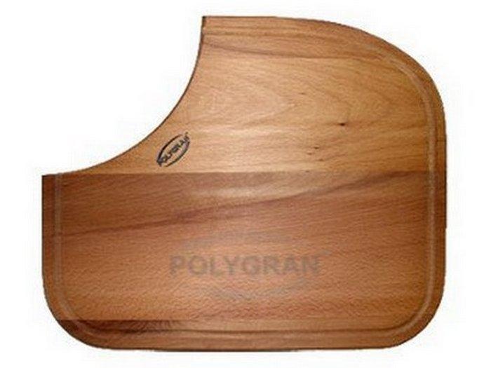 Разделочная доска на мойку Polygran-F-10
