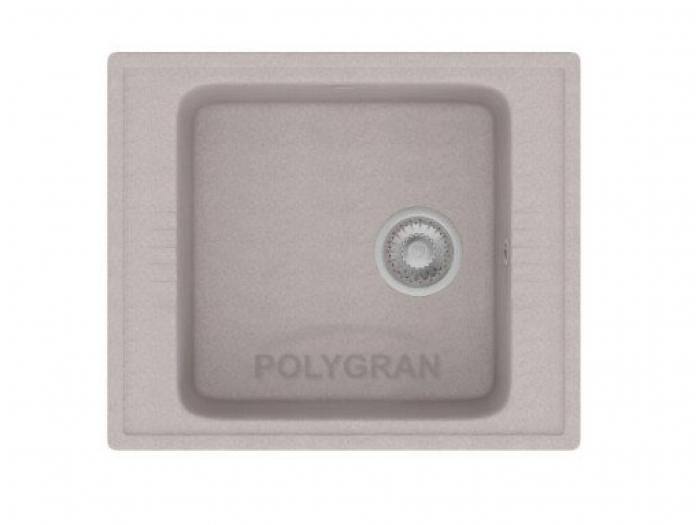 Мойка Polygran-F-20-014, цвет - Серый