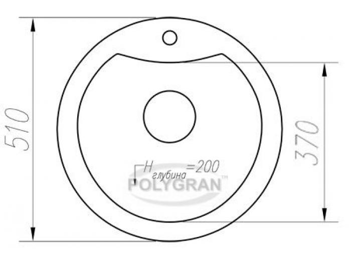 Мойка Tolero-R-108e-102, цвет - Сафари