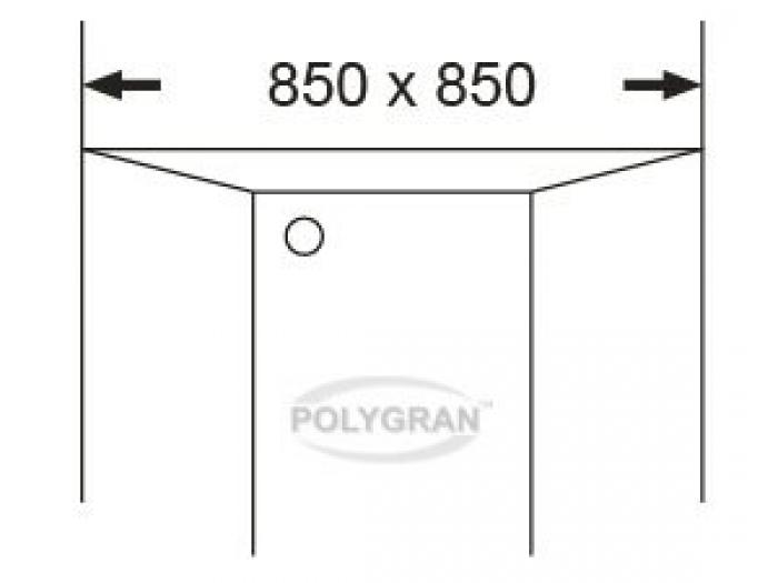 Мойка Tolero-R-114-701, цвет - Серый