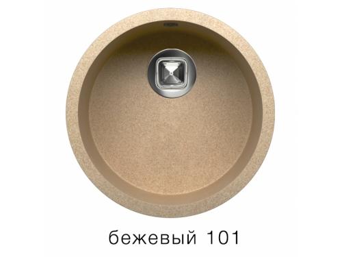 Мойка Tolero-R-104-101, цвет – Бежевый
