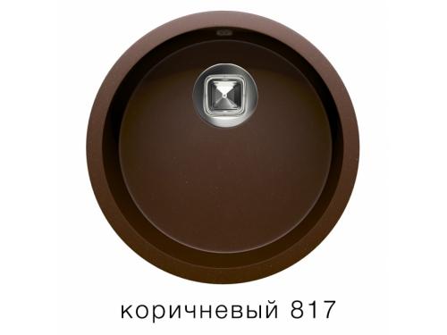 Мойка Tolero-R-104-817, цвет – коричневый