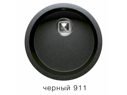 Мойка Tolero-R-104-911, цвет – черный