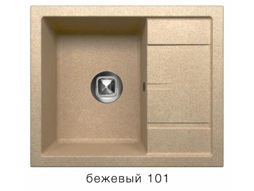 Мойка Tolero-R-107-101, цвет - Бежевый