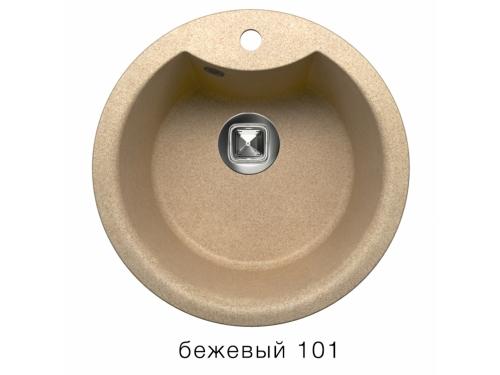 Мойка Tolero-R-108e-101, цвет - Бежевый