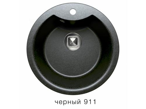 Мойка Tolero-R-108e-911, цвет - Черный