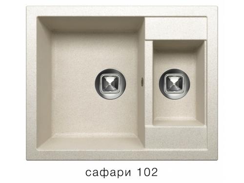 Мойка Tolero-R-109-102, цвет - Сафари