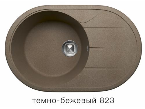 Мойка Tolero-R-116-823, цвет –темно-бежевый