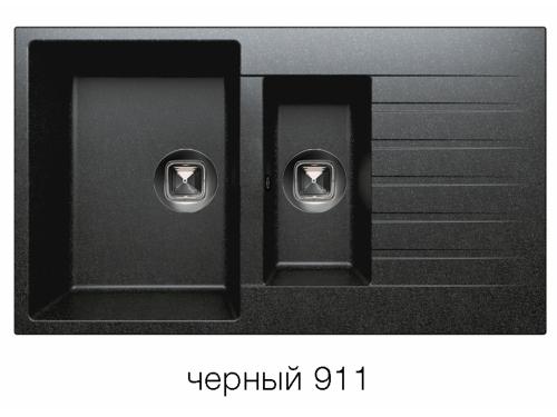 Мойка Tolero-R-118-911, цвет – черный