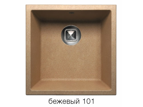 Мойка Tolero-R-128-101, цвет – Бежевый