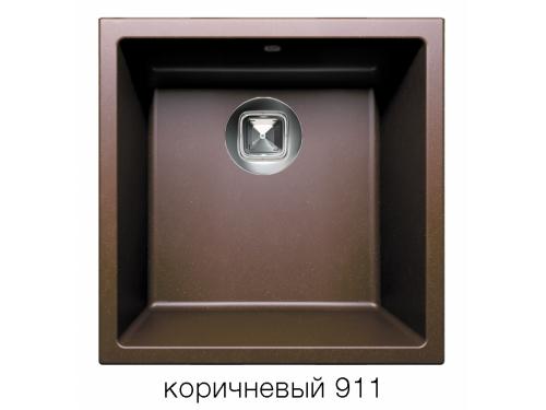 Мойка Tolero-R-128-817, цвет – коричневый