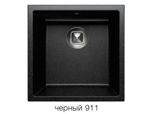 Мойка Tolero-R-128-911, цвет – черный