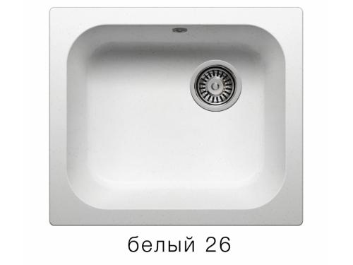 Мойка Polygran-F-17-026, цвет - Белый